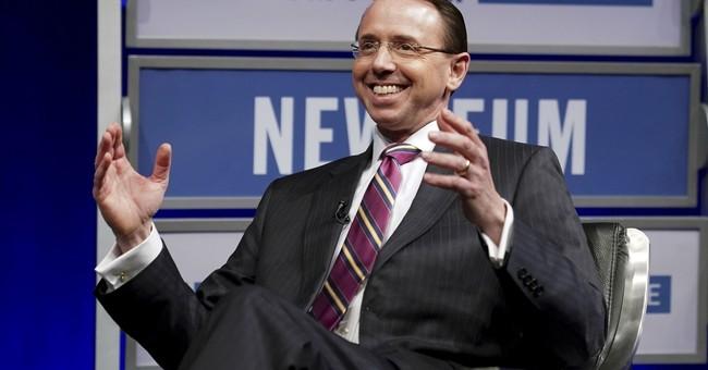 Rosenstein Responds to Conservatives' Impeachment Threats