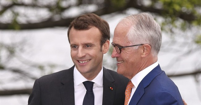 French President Macron Has Embarrassing Gaffe in Australia After Media Praises His English