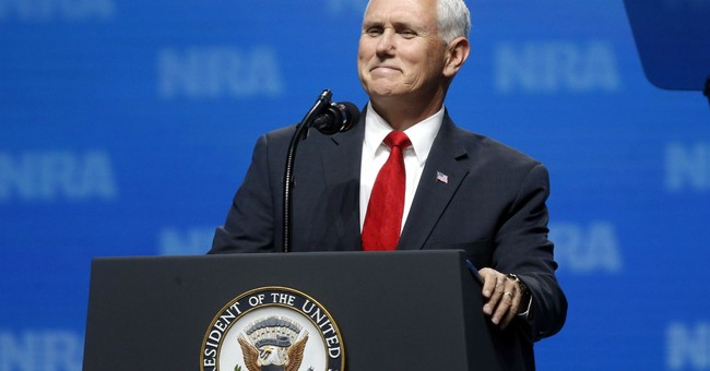 VP Pence Challenges Liberal Media At NRA Annual Meeting: Tell The Whole Story About Firearms In America