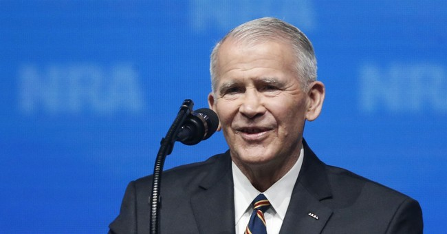 NRA President Oliver North Won't Seek Second Term