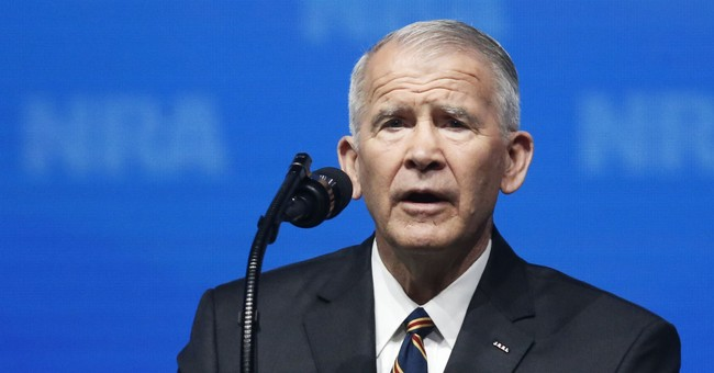 State GOP Drops NRA President Oliver North From Planned Campaign Rally. Here's Why.