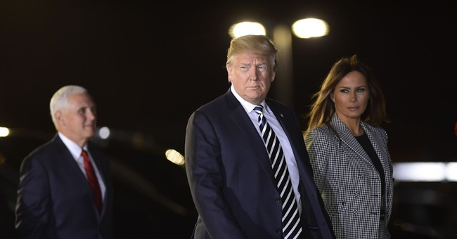Trump Slams Conspiracy Enthusiasts Who Claim Melania Was Replaced by Body Double