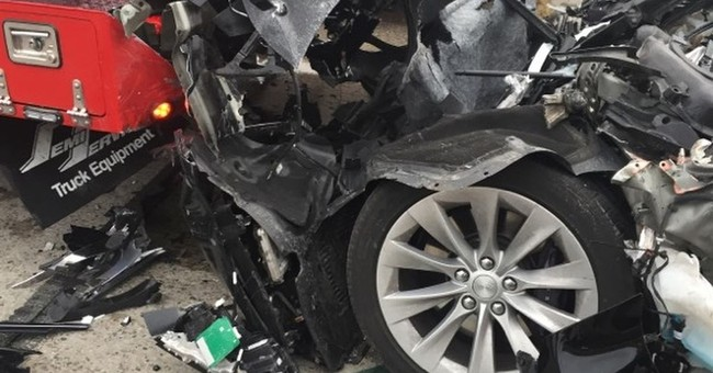 Another Tesla Up In Flames: Spotlight On Speed Limits And Batteries