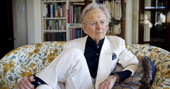 Tom Wolfe Is Dead, and I Am in Italy