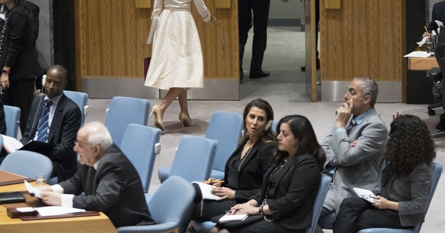 Nikki Haley Walks Out of UN As Palestinian Envoy Starts Speaking