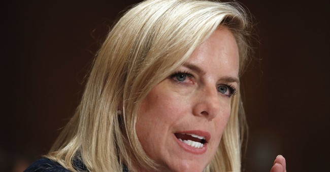DHS Secretary Slams 'Misreporting&#39 of Immigration Practices 'We Don't Have a Policy of Separating Families at Border. Period.&#39