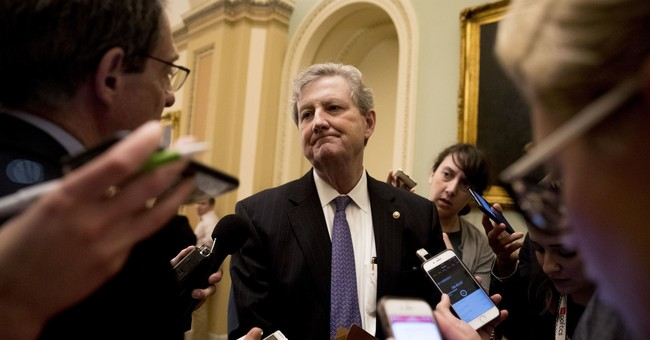 Here's What Sen. John Kennedy Says Trump's Immigration 'Sin' Is
