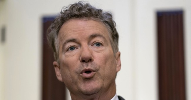 Rand Paul Schools Reporter on Whistleblower Protection