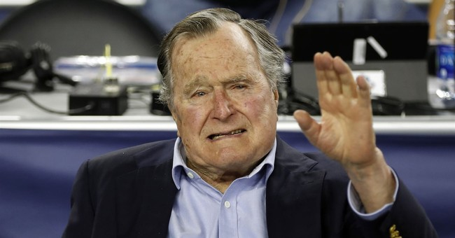 Spokesman: George H. W. Bush Back in the Hospital