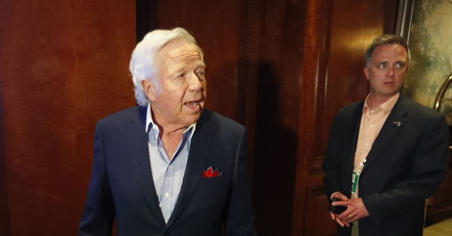 Robert Kraft Has Another Super Bowl Win, But Also A Sex Crime Charge