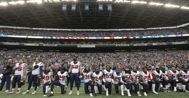 What Exactly Does Disrespecting The Flag At An NFL Game Have To Do With Fighting 'Injustice?'