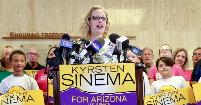 Senate Hopeful Sinema Turns on Schumer