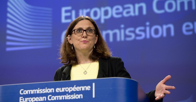 EU commissioner suggests broad cuts to tariffs with U.S.