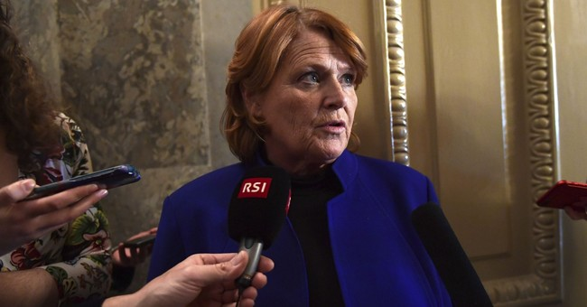 This...Is Heidi Heitkamp's Secret Weapon?; UPDATE: Hail Mary Pass To Biden