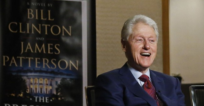 Pervert Alert: Jeffrey Epstein Had A Weird Painting Of Bill Clinton In A Blue Dress And Red Heels?
