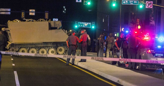 ICYMI: An Amy Officer Stole An Armored Vehicle And Led Police On A Chase Down I-95