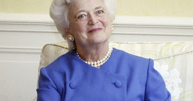 Barbara Bush Gave Up Her Republican Status Because She Hated Trump
