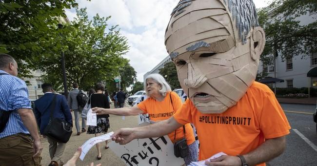 Dem lawmakers seek criminal corruption probe of EPA's Pruitt
