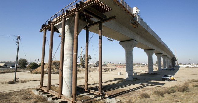 California 'Bullet' Train Just One of Countless Projects Bilking Taxpayers