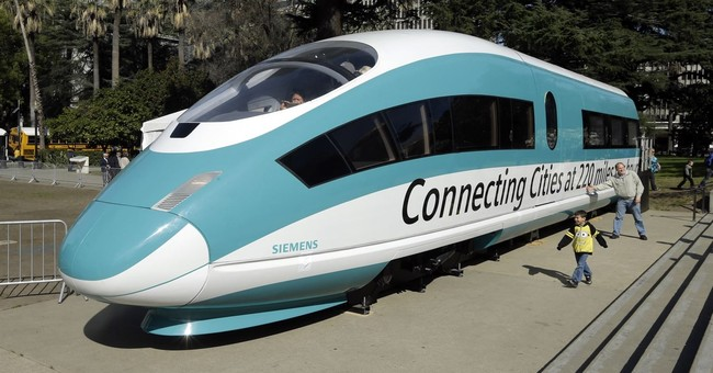 Jerry Brown's Bullet Train Cost Equals Eight Thousand Years Of Equivalent Air Flights