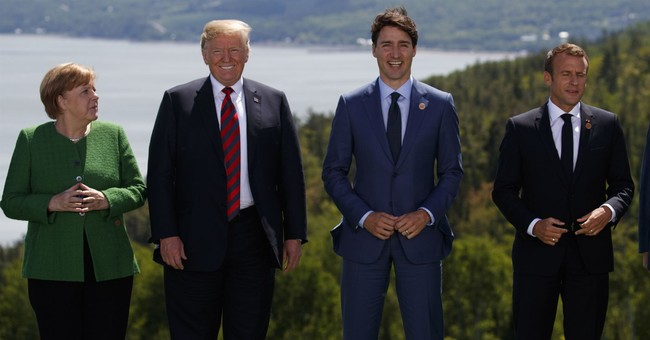 CANADIAN BACON: Trump Team Accuses Trudeau of Hamming It Up During G7 Press Conference 'Stunt'