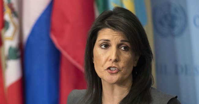 Nikki Haley Calls Out Russia Over Reports They Violated UN Sanctions on North Korea