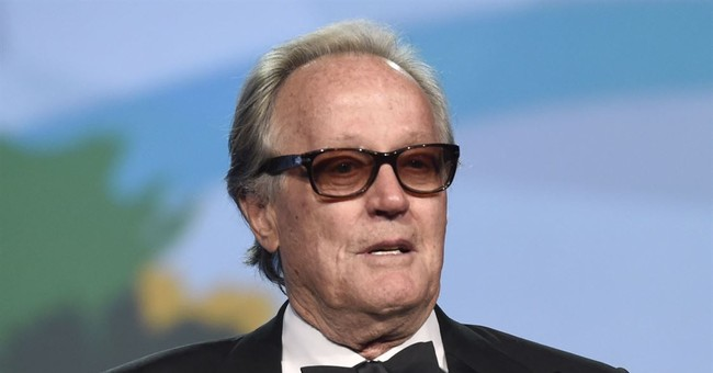 Peter Fonda Sorry About 'Vulgar' Barron Trump Tweet