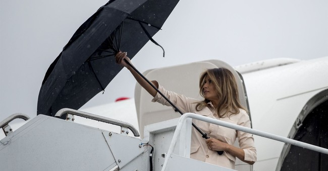 Melanias really dont care jacket stuns on visit to detained immigrant children