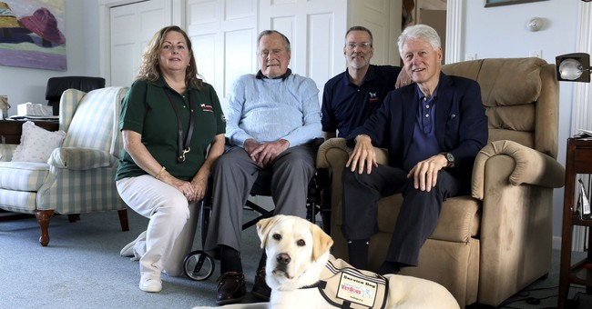 'Mission Complete': The One Photo of Bush's Service Dog You Need to See