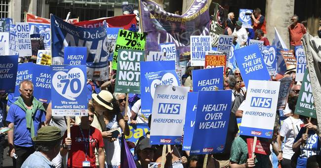 Liberals Cry Louder for Single-Payer While England's Single-Payer Nightmare Worsens