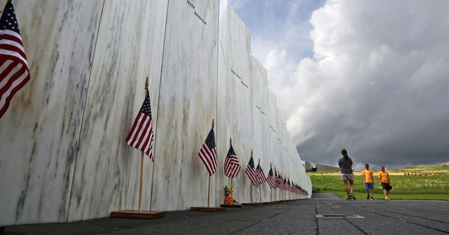 Flight 93, The Crater And The Open Book