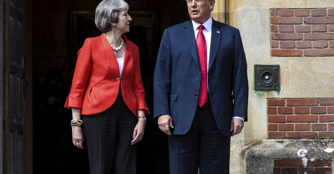 Trump Criticizes May Over Brexit Plan: 'She Didn't Listen to Me'