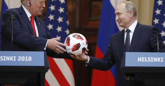 Sen. Graham Says Trump Should Check the Soccer Ball Putin Gave Him for Listening Devices