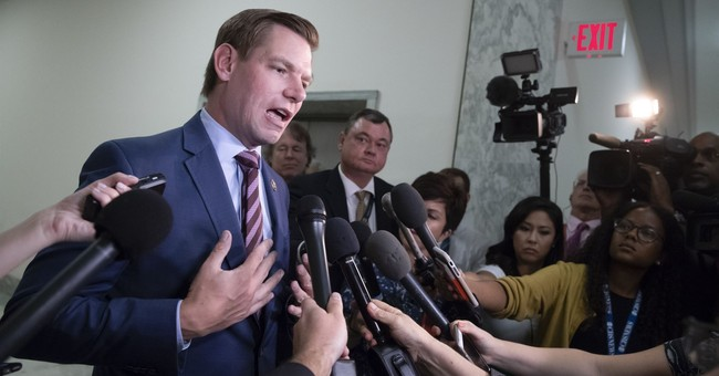 Rep. Eric Swalwell Faces Mockery After Trump Tower Selfie