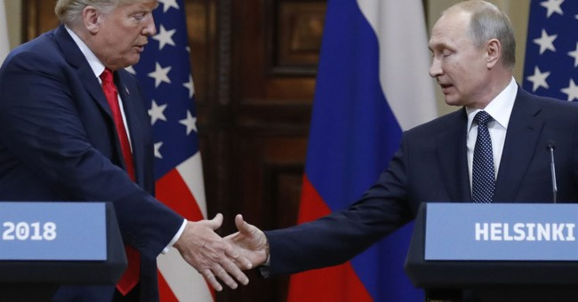 President Trump and Russia's Putin Just Held a Historic Press Conference, Here's What They Said
