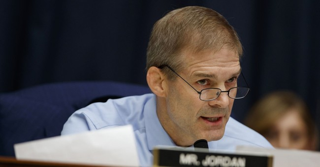 Jim Jordan on Rosenstein Impeachment Filing: We Are Sick of DOJ Giving Us the Finger