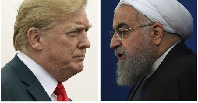 Trump warns Iran to never threaten US again