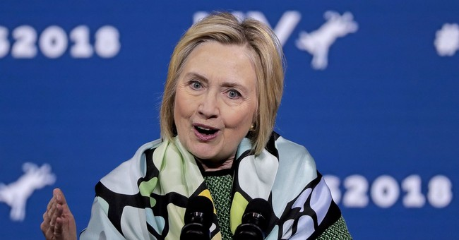Hillary Clinton Peddles Thoroughly Debunked Claim About Kavanaugh and Birth Control