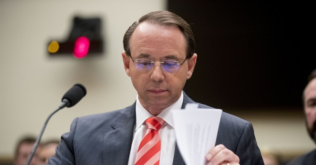 GOP Lawmakers Launch Bid to Impeach Rod Rosenstein