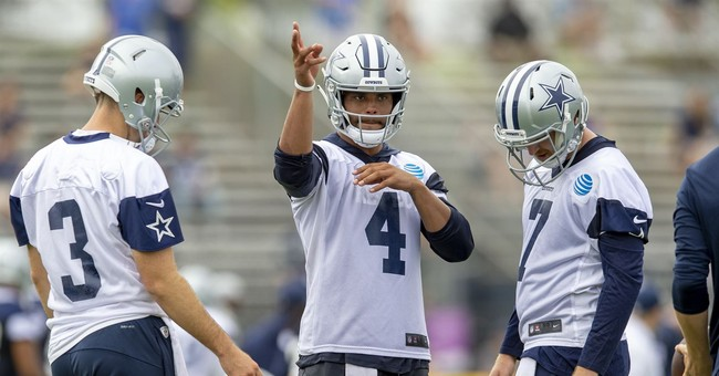 Dallas Cowboys QB: I'd Never Protest During the Anthem