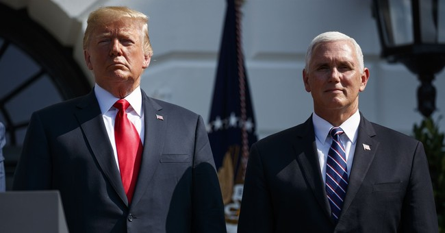 Hmmm: Is Trump Exploring Dumping Pence From the 2020 Ticket?