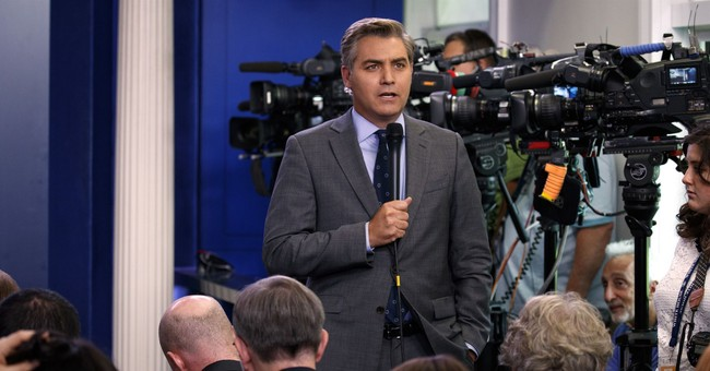 Jim Acosta Complains About 'Post Trump Stress Disorder' to Brian Stelter, Then Really Goes Over the Slide