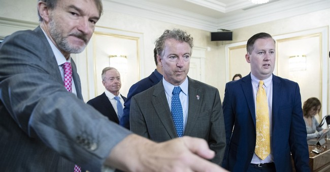 Sen. Rand Paul, in Moscow, invites Russian lawmakers to Washington