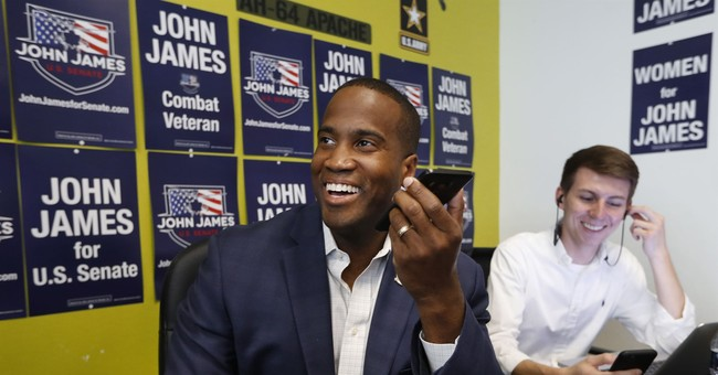 John James' Campaign Exposes Health Care 'Lies' From Sen. Peters
