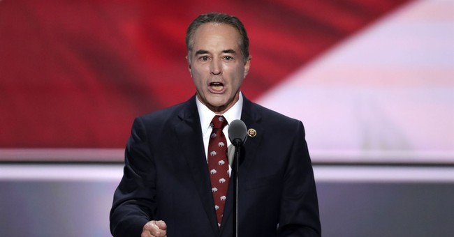 GOP Rep. Chris Collins Will Continue to Campaign Despite Being Indicted For Insider Trading