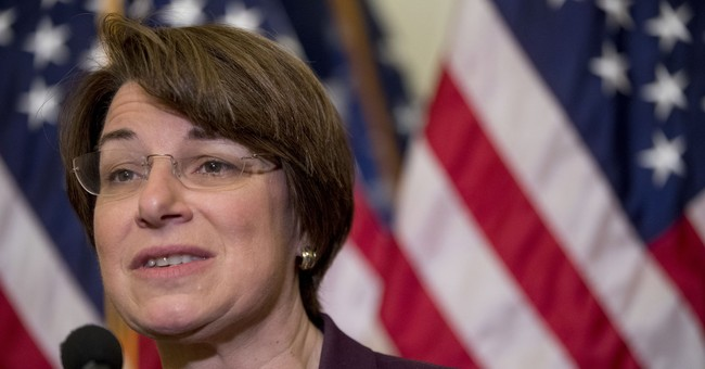WATCH: Amy Klobuchar's Answer On Whether Or Not To Impeach Trump Is Rather Odd