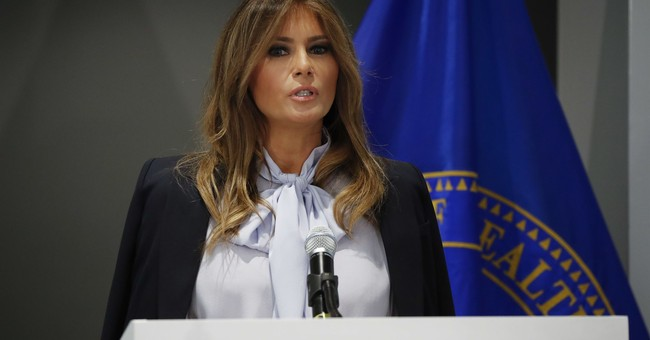 Melania Again Mocked for Speaking Out Against Cyberbullying...Did Trump Warn Her Not to Speak on it?