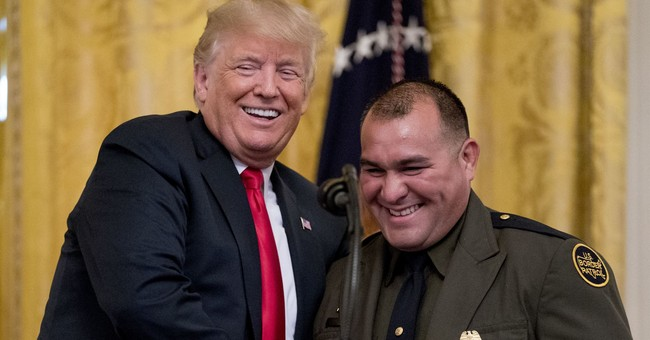 ICYMI: President Trump Honors ICE and Border Patrol Agents at the White House