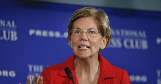 Doing it his way: Warren emulates Trump as she taunts him