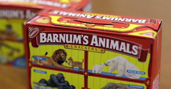 PETA Won Its Battle With Animal Crackers. Now Those Circus Creatures Can Be Free...On The Boxes